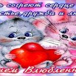 Поздравляю с Днём Влюблённых