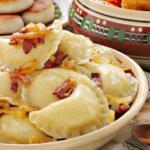 Рецепты постных вареников с картошкой на Святвечер