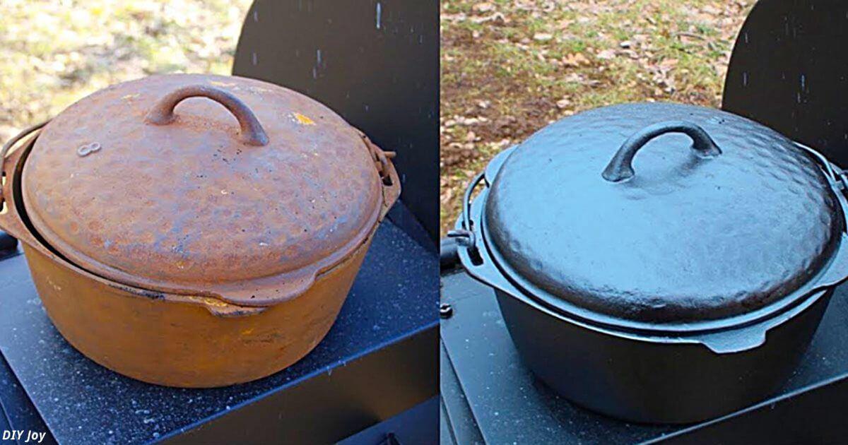 Как восстановить чугунную посуду: она вообще «неубиваема»