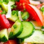 Несовместимые продукты, или почему нельзя есть салат из помидор и огурцов