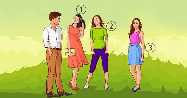 Логико — психологический тест: какая девушка нравится парню