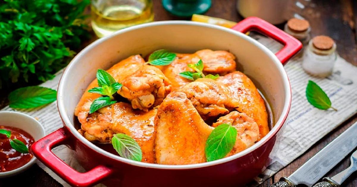 Изумительно вкусные куриные крылышки в экзотическом медово- соевом маринаде