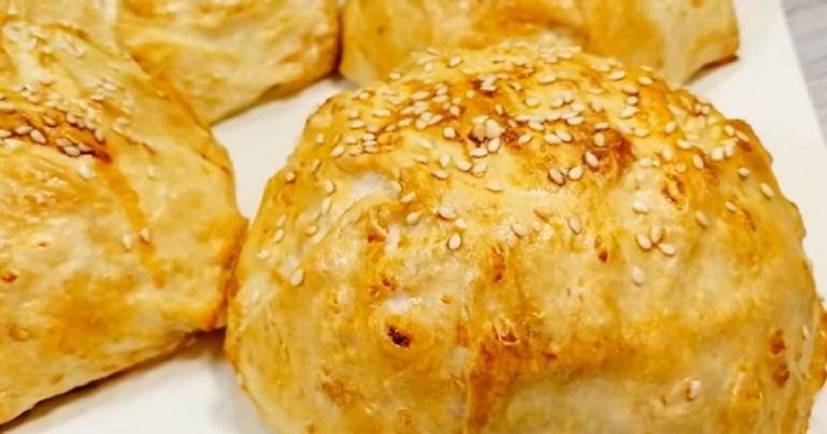 Самые румяные и сытные пироги с курочкой: здесь лаваш вместо теста