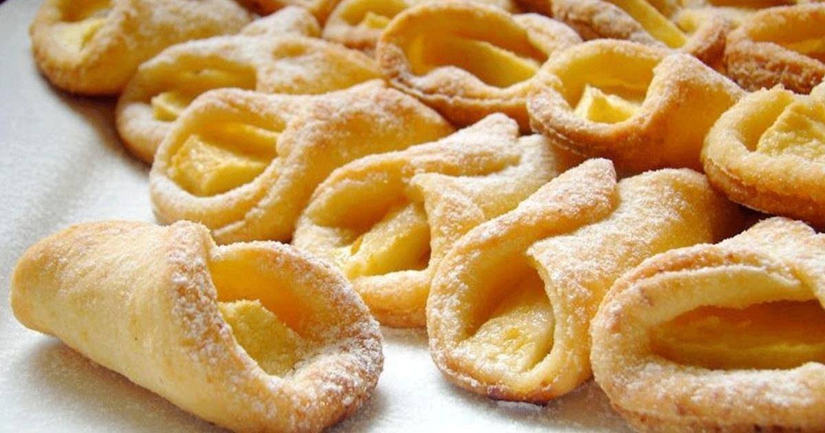 Низкокалорийные творожные печенья с яблоками.Без вреда для фигуры!